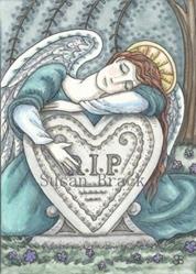 Art: HEARTS DEPARTED by Artist Susan Brack