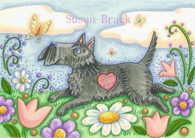Art: BUTTERFLY CHASER by Artist Susan Brack