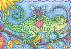 Art: BUTTERFLY DELIGHT by Artist Susan Brack