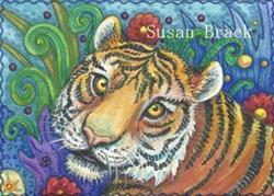 Art: MEOW by Artist Susan Brack