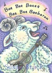 Art: RAM JAM by Artist Susan Brack
