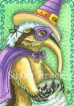 Art: BAG OF TREATS by Artist Susan Brack