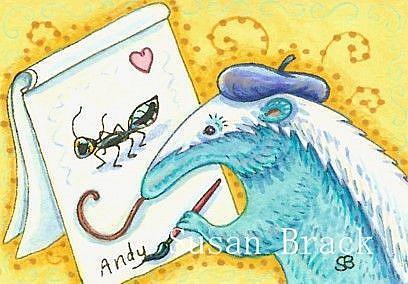 Art: ANT MASTERPIECE by Artist Susan Brack