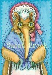 Art: GRANNY ANTEATER by Artist Susan Brack