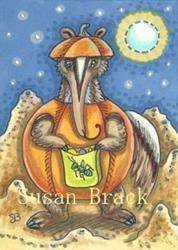 Art: AN ANT HILL HALLOWEEN by Artist Susan Brack