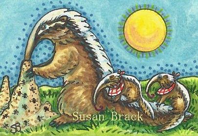 Art: ANTS ON THE MENU by Artist Susan Brack