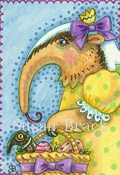 Art: BASKET FOR ANNIE by Artist Susan Brack