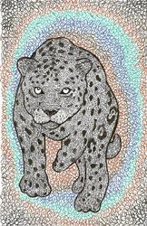 Art: jaguar by Artist Nata ArtistaDonna