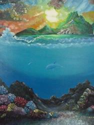 Art: Above And Beyond by Artist Nata ArtistaDonna