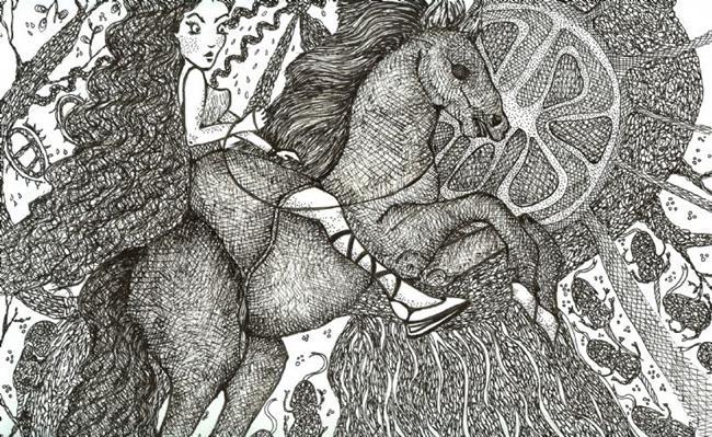 Art: Fantasy World by Artist Nata ArtistaDonna