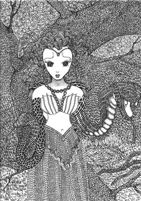 Art: Medea's World by Artist Nata ArtistaDonna
