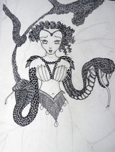 Detail Image for art Medea's World