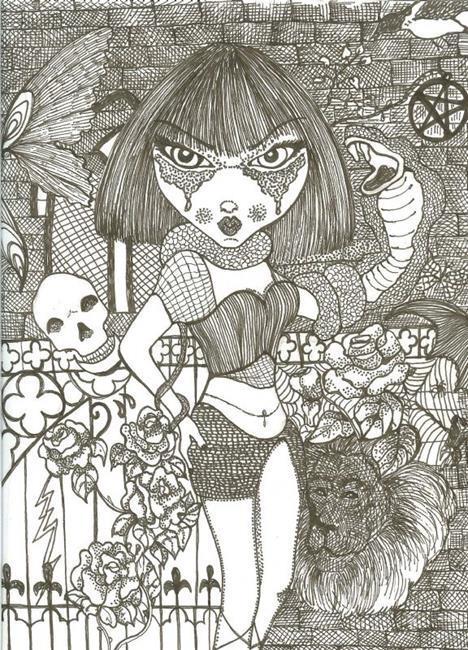 Art: Life and Death by Artist Nata ArtistaDonna