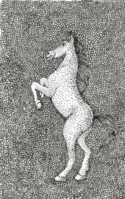 Art: Horse by Artist Nata ArtistaDonna