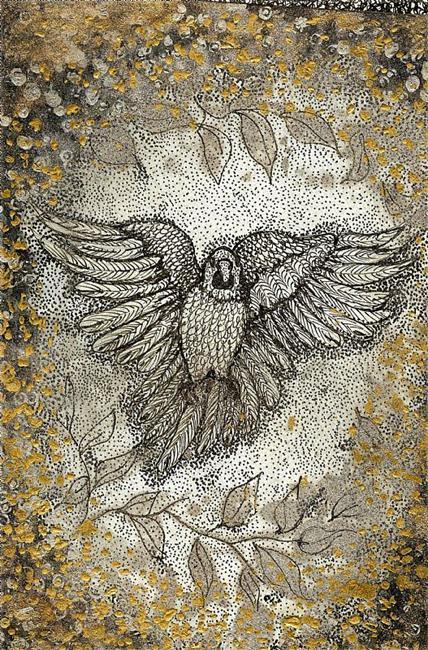 Art: Flutter by Artist Nata Romeo ArtistaDonna