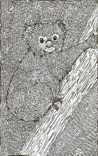Art: Koala by Artist Nata ArtistaDonna