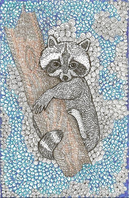Art: RACOON by Artist Nata ArtistaDonna