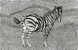 Art: zebra by Artist Nata ArtistaDonna