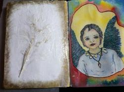 Art: Touched by An Angel by Artist Nata ArtistaDonna
