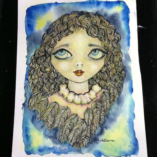 Art: Touch by An Angel by Artist Nata Romeo ArtistaDonna