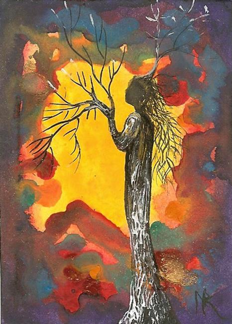 Art: Tree 34 by Artist Nata ArtistaDonna