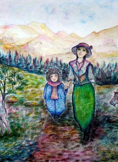 Art: Where are we heading? by Artist Nata ArtistaDonna