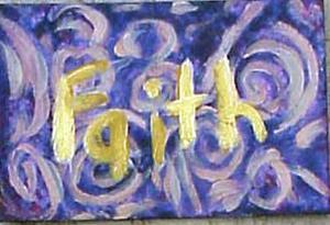Detail Image for art Faith Hope Love SOLD