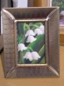 Detail Image for art Lily of the Valley ACEO SOLD