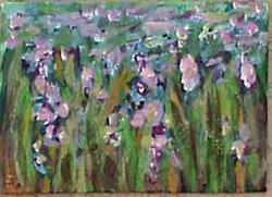 Art: Field Flowers ACEO SOLD by Artist Terri L West