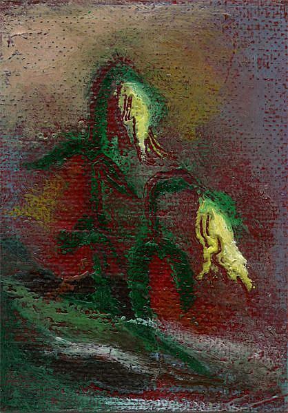 Art: Shy Pair by Artist Caroline Lassovszky Baker