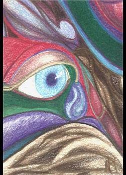 Art: Malice Monster by Artist Nancy Barnes