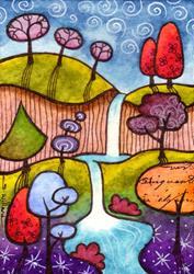 Art: The 50 Tree by Artist Sandra Willard
