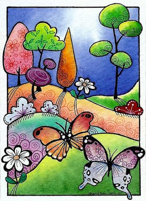 Art: WI-108 - Sisters by Artist Sandra Willard