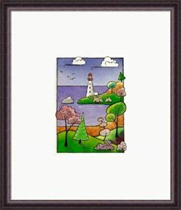 Detail Image for art WI-69 - The lighthouse