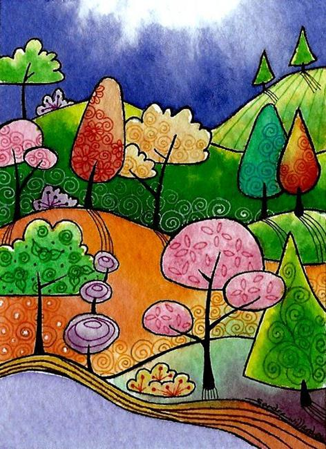 Art: WI-78 - Sunshine by Artist Sandra Willard