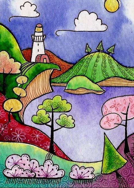 Art: WI-95 - The Beacon by Artist Sandra Willard