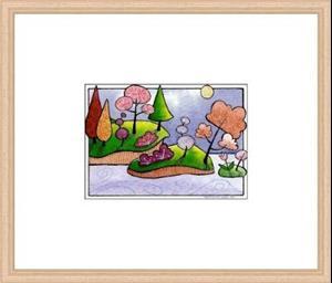 Detail Image for art WI-105 - Pink rose
