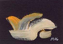Art: A PIECE OF GOLF HISTORY by Artist Gabriele Maurus