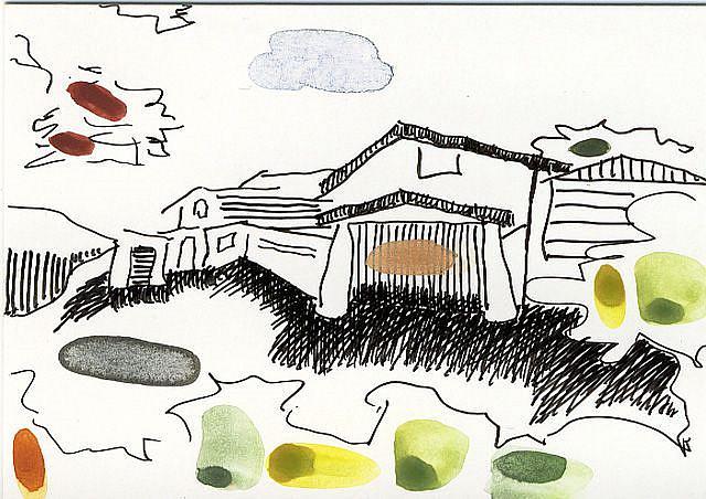 Art: MIND THE GAP in.....Crestline Road by Artist Gabriele Maurus