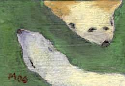Art: Polar Bears, searching by Artist Gabriele Maurus