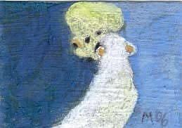 Art: Polar Bears, finding by Artist Gabriele Maurus