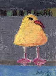 Art: Gull, undercover by Artist Gabriele Maurus
