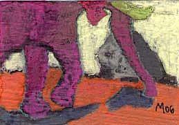 Art: ELEPHANT, PARTLY by Artist Gabriele Maurus