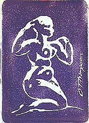 Detail Image for art Cobalt Nude