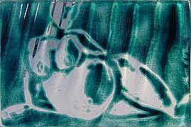 Detail Image for art Reclining Pregnant Nude