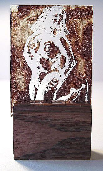 Art: Dancing Nude by Artist Dawn Lee Thompson