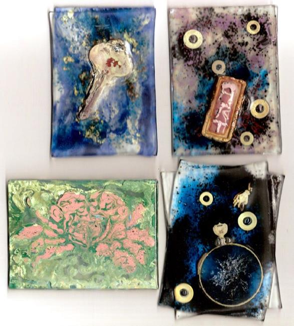 Art: Artist Trading Cards by Artist Deborah Sprague