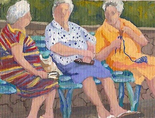 Art: Best Friends by Artist Deborah Sprague
