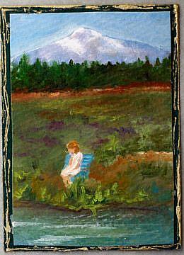 Art: Enjoying the Afternoon by Artist Deborah Sprague
