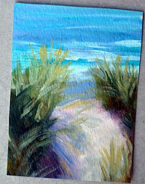 Art: Pathway to Paradise by Artist Deborah Sprague